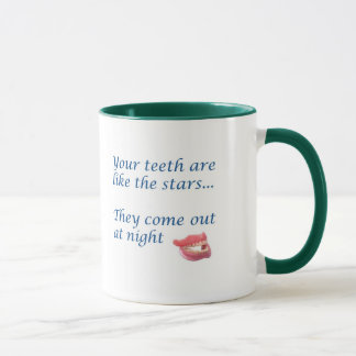 teeth are stars mug