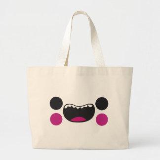 Teeth Face Jumbo Tote Bag