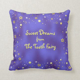Teeth Poem Starry Night Kids Tooth Fairy Pillow