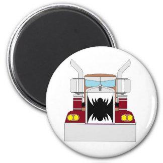 teeth truck 2 inch round magnet