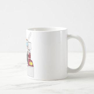 teeth truck coffee mug