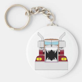 teeth truck keychain