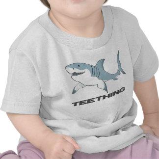 Teething shark infant T T Shirt