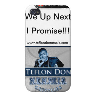 Teflon Don-M.E.M.P.H.I.S. Grizzlies CUSTOM PHONE Cases For iPhone 4