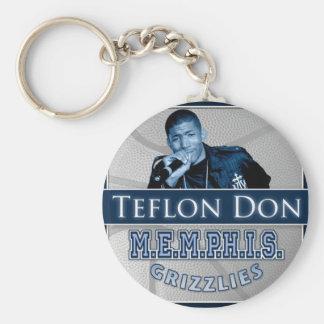 Teflon Don-M.E.M.P.H.I.S. Grizzlies keychain