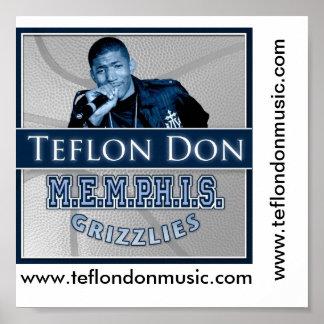 Teflon Don Poster