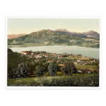 Tegernsee, general view, Upper Bavaria, Germany ra Post Card