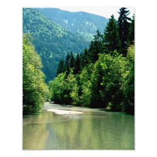 Tegernsee River Trail Photo Print