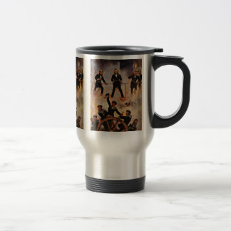 Tegetthoff Admiral At The Battle Of Lissa 15 Oz Stainless Steel Travel Mug