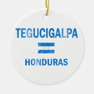 Tegucigalpa Honduras Designs Ceramic Ornament