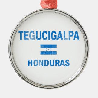 Tegucigalpa Honduras Designs Metal Ornament