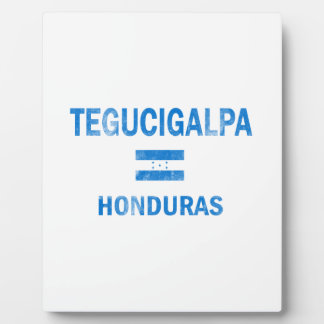 Tegucigalpa Honduras Designs Display Plaques