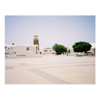 Teguise and nobody else postcard
