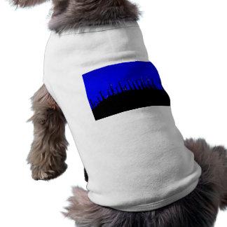 Tehacapi Wind Farm Silhouette 2 Pet T-shirt
