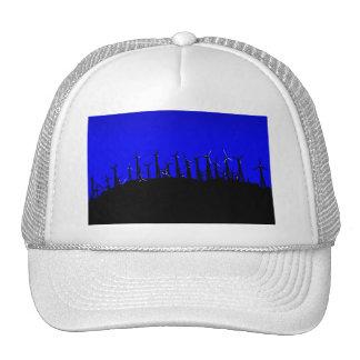 Tehacapi Wind Farm Silhouette (2) Trucker Hat