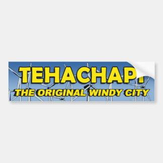 Tehachapi: The Original Windy City Bumper Stkr #1 Bumper Sticker