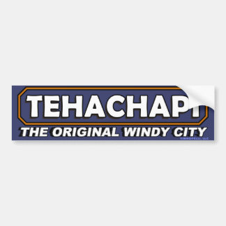Tehachapi: The Original Windy City Bumper Stkr #2 Bumper Sticker