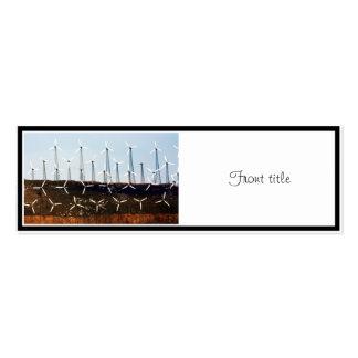 Tehachapi Wind Farm Business Card