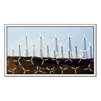 Tehachapi Wind Farm Business Cards