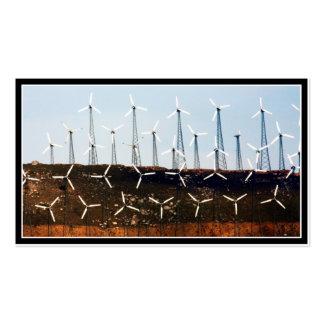 Tehachapi Wind Farm Business Card Template