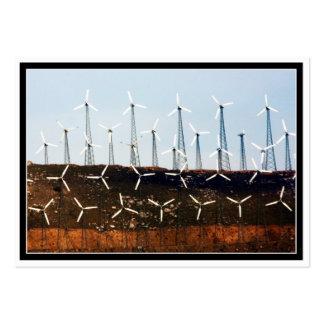 Tehachapi Wind Farm Business Card Templates