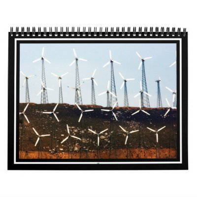 Tehachapi Wind Farm Wall Calendars