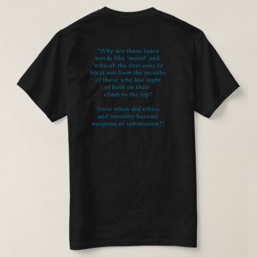 TeholBugg 2020 Ethics  Morality T_Shirt