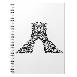 tehran 2 spiral notebook