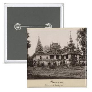 Teik Kyaung monastery, isle of Ka Toe Button