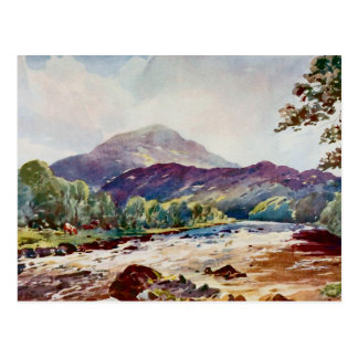 Teith nr Callander , Perthshire, Scotland Postcard