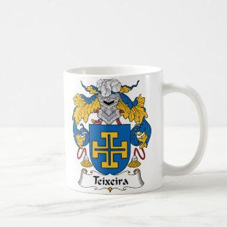 Teixeira Family Crest Coffee Mug