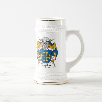 Teixeira Family Crest Coffee Mug