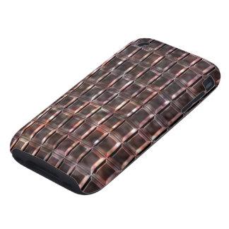 Teja #1c del alabastro iPhone 3 tough protectores