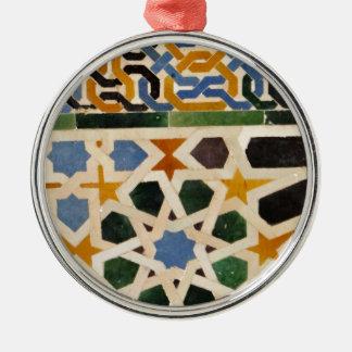 Teja #3 de la pared de Alhambra Ornamento De Reyes Magos