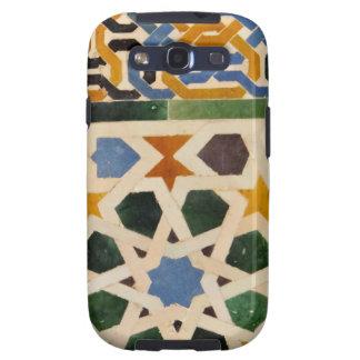 Teja #3 de la pared de Alhambra Galaxy SIII Fundas
