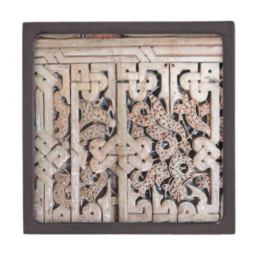 Teja #8 de la pared de Alhambra Caja De Joyas De Calidad