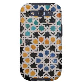 Teja #9 de la pared de Alhambra Galaxy S3 Protectores
