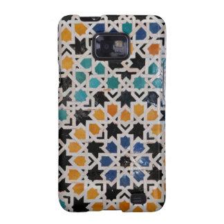 Teja #9 de la pared de Alhambra Samsung Galaxy S2 Carcasas
