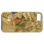 Teja a mano el hilado de la felpilla iPhone 5 Case-Mate cárcasas