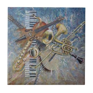 Teja abstracta de la melodía
