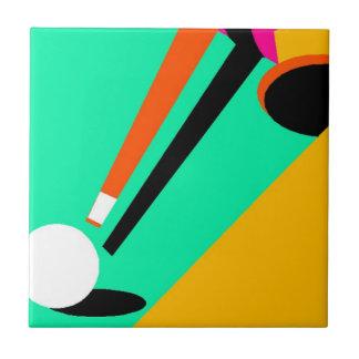 Teja abstracta intrépida del palillo de la bola de