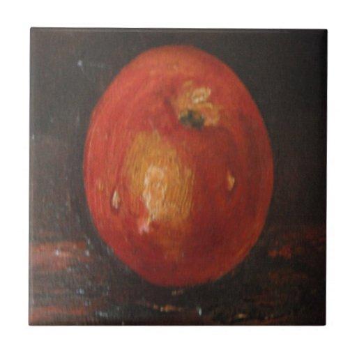 Teja Ana Hayes que pinta Apple