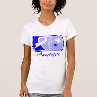 Teja Ankylosing de la conciencia de la esperanza Tee Shirts