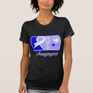 Teja Ankylosing de la conciencia de la esperanza Camiseta