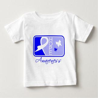 Teja Ankylosing de la conciencia de la esperanza T-shirt