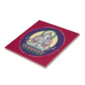 Teja - Avalokiteshvara (Tib: Compasión de Chenrezi
