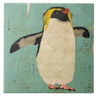 Teja azul de la laguna del pingüino