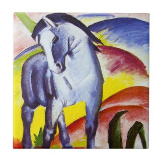 Teja azul del caballo de Franz Marc