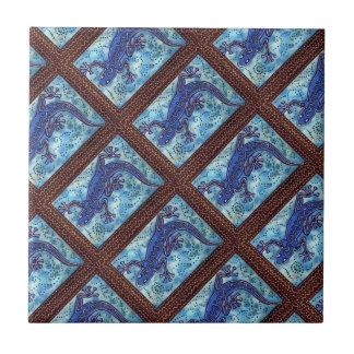 Teja azul del Gecko