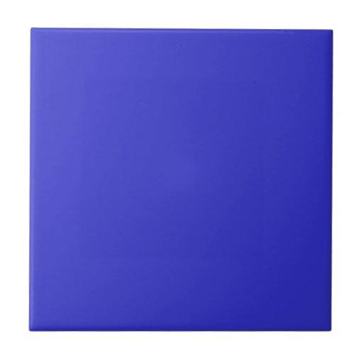 Teja azul llana